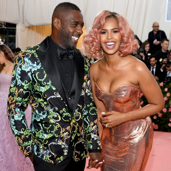 Idris Elba and Sabrina Dhowre at the 2019 Met Gala