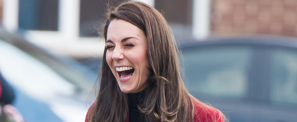 Kate Middleton's Reaction to Doing an Exercise With Young Air Cadets Will Crack You Up