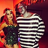 Poison Ivy and Mr. Freeze