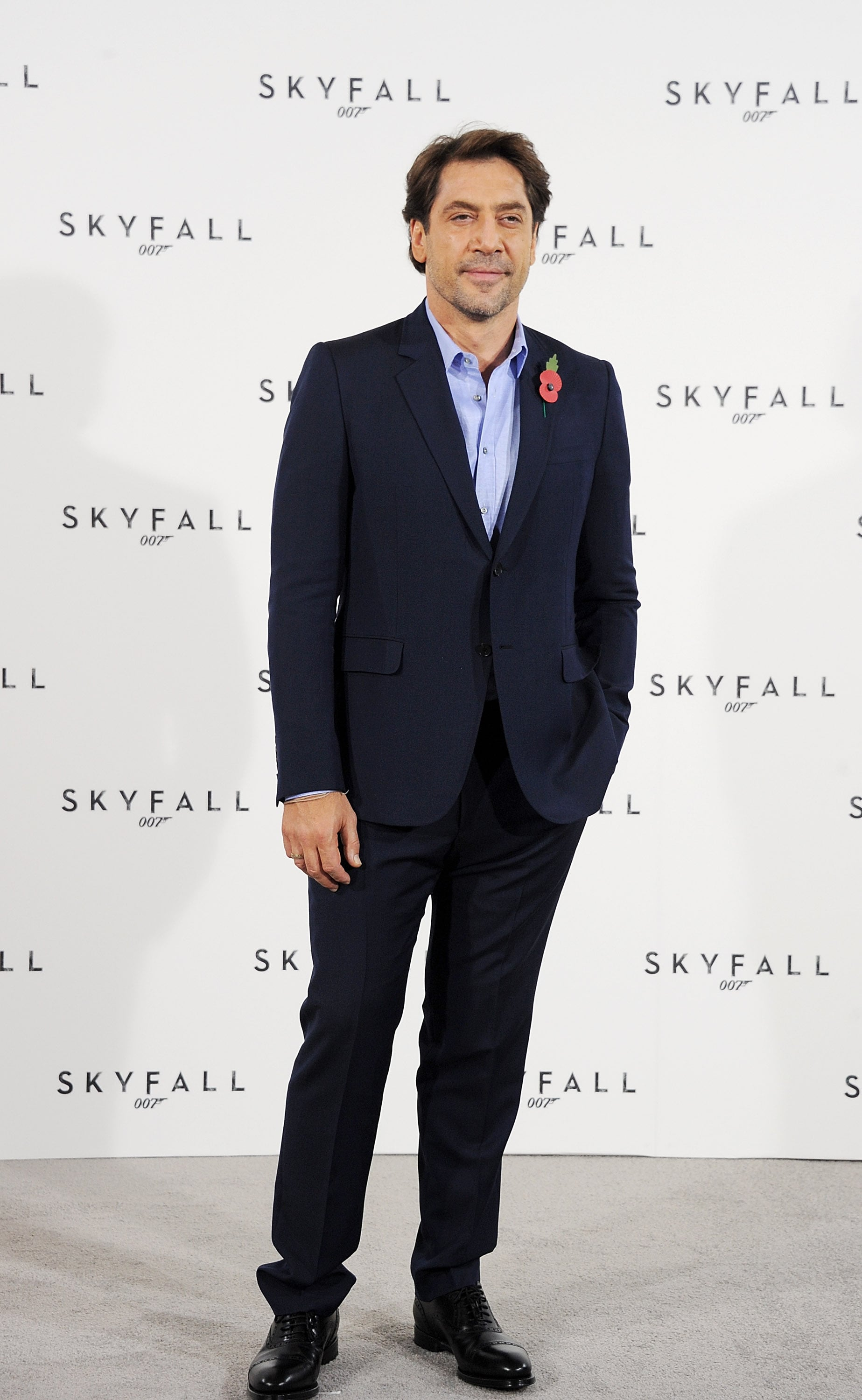 Javier Bardem was in London for Skyfall.