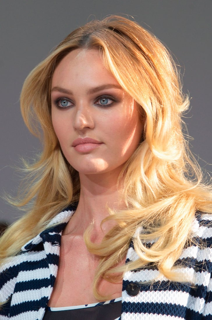 Candice swanepoel haircut layers