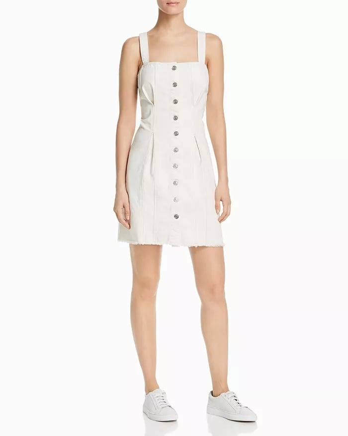 Current/Elliott The Corset Denim Dress