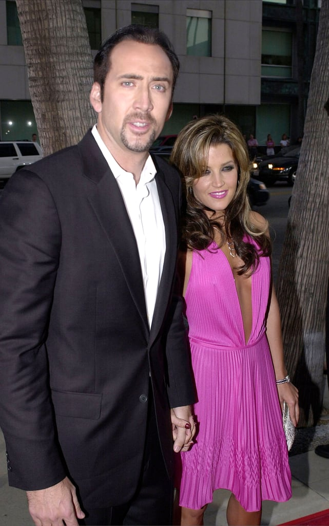 Nicolas Cage and Lisa Marie Presley married in a lavish Hawaiian ceremony in August 2002, but by November, Nicolas had filed divorce papers.