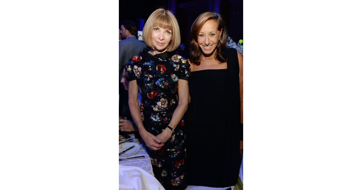 Anna Wintour and Donna Karan were among the guests at the ...