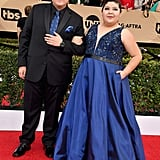 Modern Family's Rico Rodriguez and His Sister Are Having So Much Fun at the SAG Awards