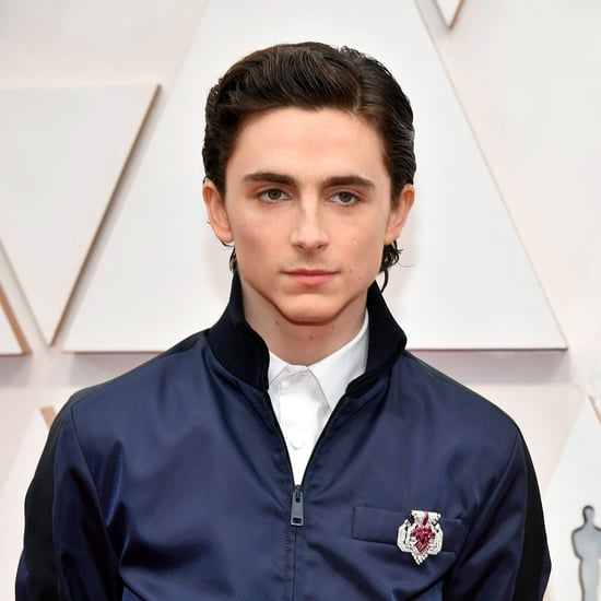 Timothee Chalamet's Wet Hairstyle at the Oscars 2020.