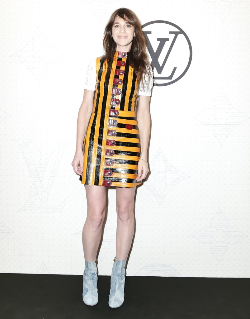 But Charlotte Gainsbourg's Look Turned Heads
