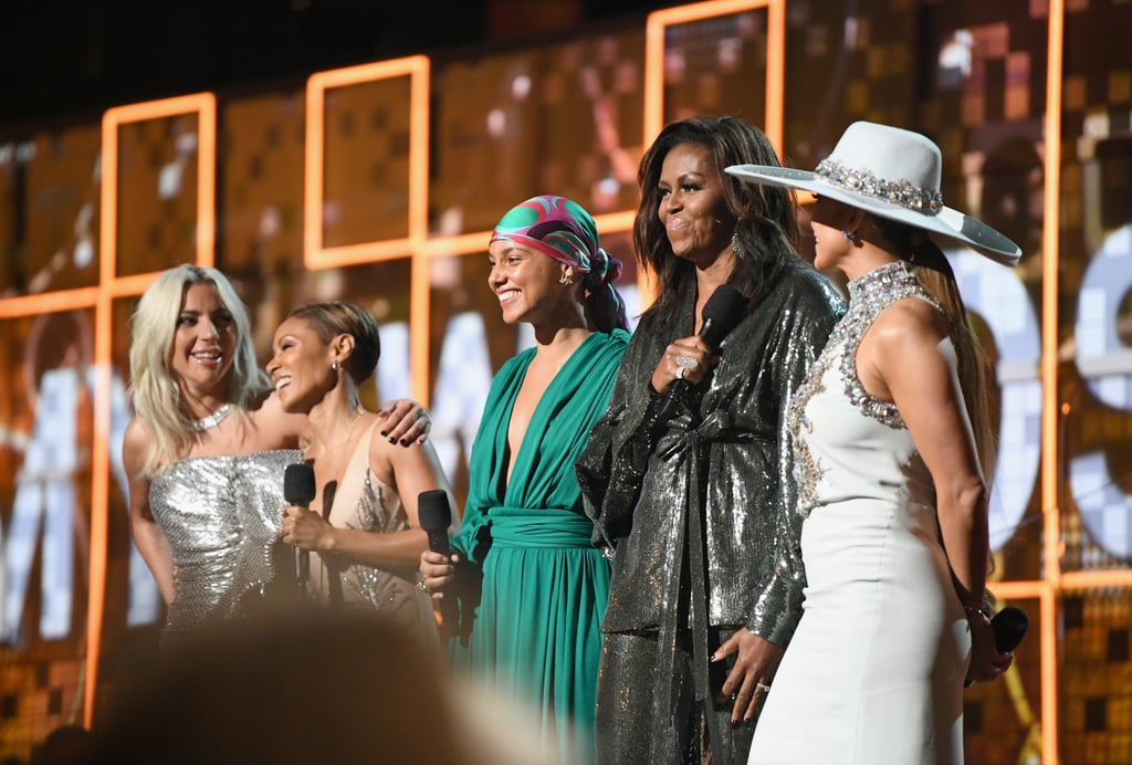 Michelle Obama's Text With Mom After the 2019 Grammys