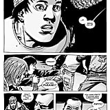 """Initially Negan says he won't pick Glenn because he doesn't want to be labeled as a racist, but after the """"eeny, meeny, miny, moe"""" game lands on him, the bat-wielding villain decides to murder him anyway."""