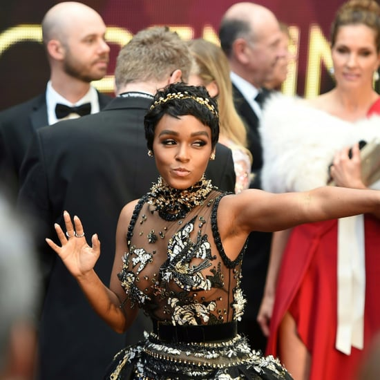 Janelle Monae at the Oscars 2017