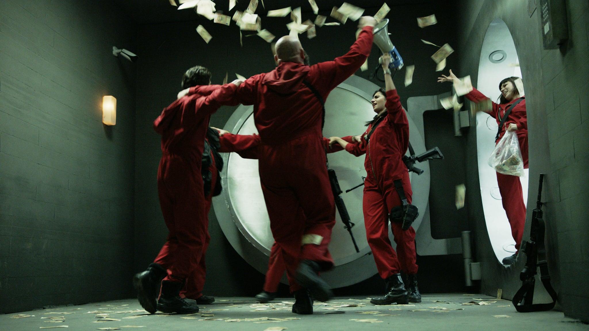 MONEY HEIST, (aka LA CASA DE PAPEL), 'Bella Ciao', (Season 1, ep. 115, aired in US on April 6, 2018). photo: Netflix/Antena 3 / Courtesy: Everett Collection
