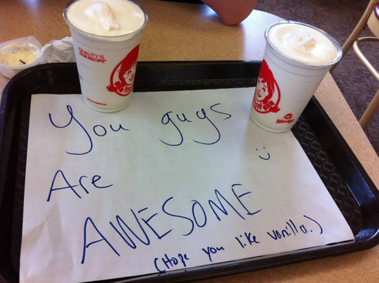 Teens Stand Up to Bully at Wendy's