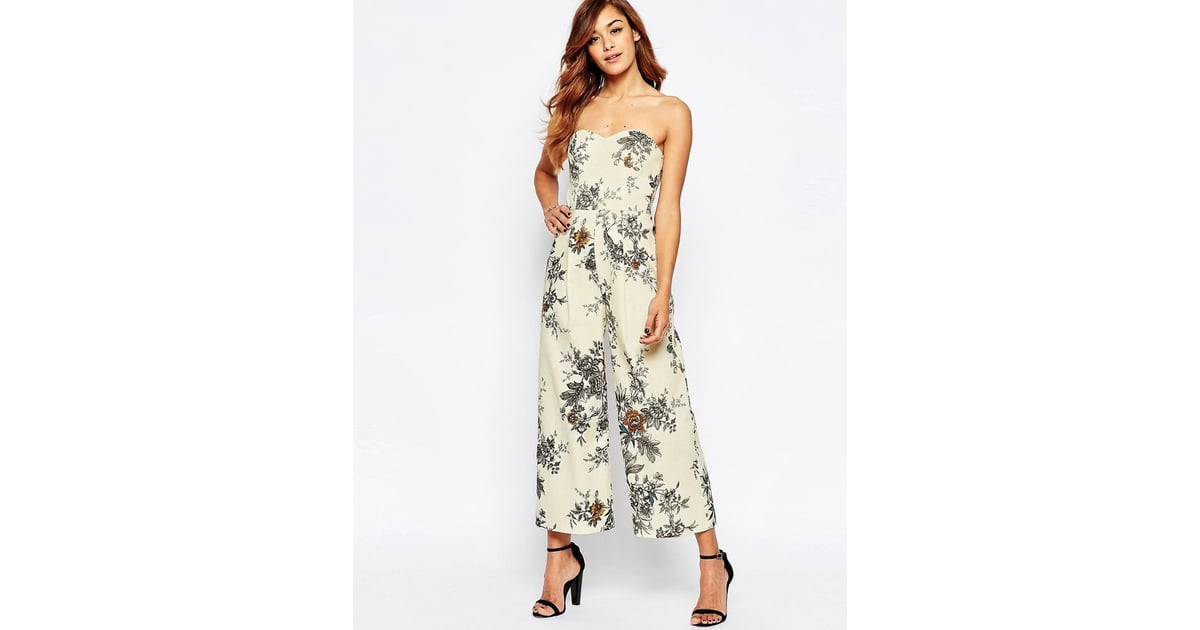 Asos Occasion Tailored Floral Jumpsuit ($111)