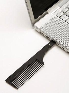 2GB USB Flash Drive Is a Comb, Too