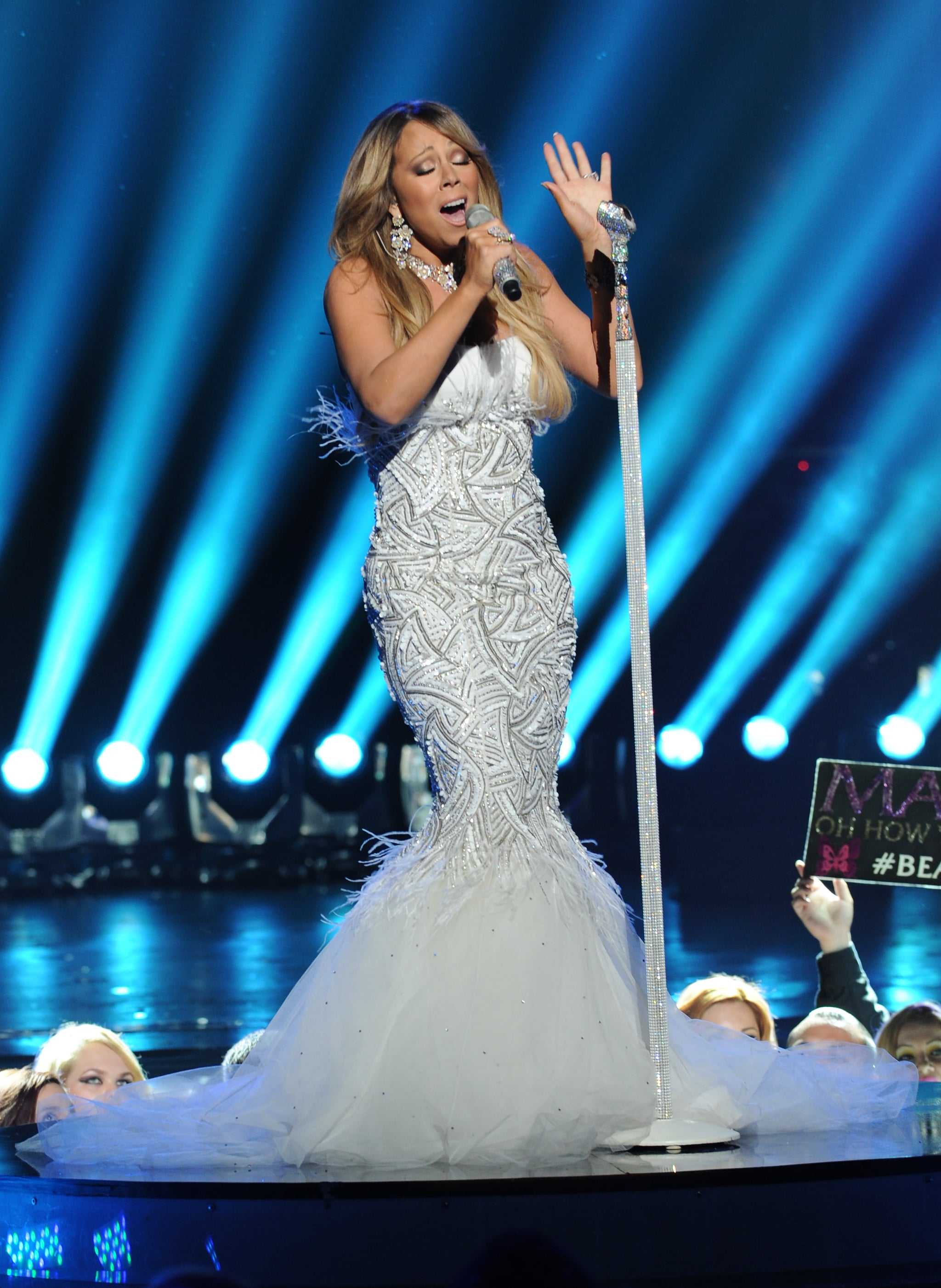 Diva-Off: Jennifer Lopez and Mariah Carey Take the Stage For American Idol