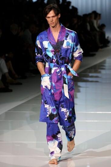 Roberto Cavalli Milan Fashion Week Menswear Spring/Summer 2009