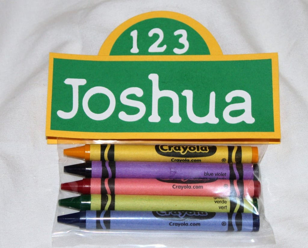 Sesame Street Party Favor Crayons