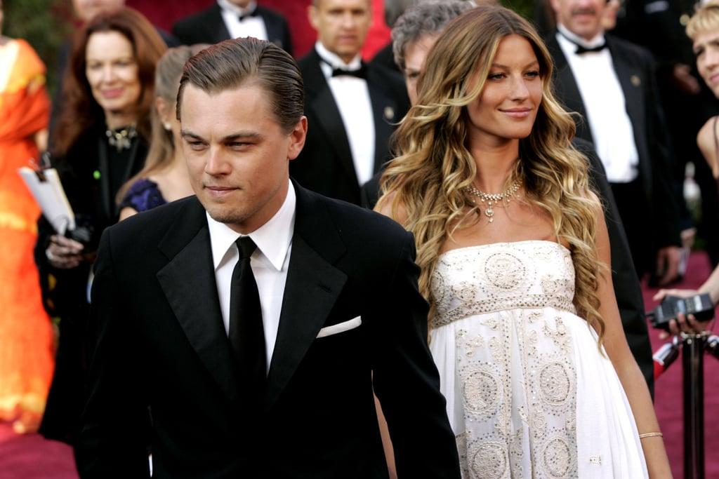 Leonardo DiCaprio and Gisele Bundchen at the 2015 Oscars