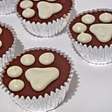Candy is dandy, but treats are so neat! Cute yogurt-topped peanut butter cups are dog-safe with carob substituted for chocolate.