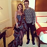 Brad Goreski styled Christina Ricci for the Met Gala. Source: Instagram user mrbradgoreski