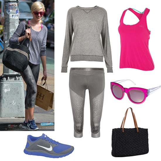 Get Anne Hathaway's Workout Style