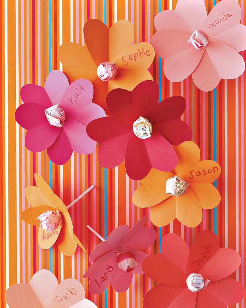 Heart-and-Lollipop Flowers