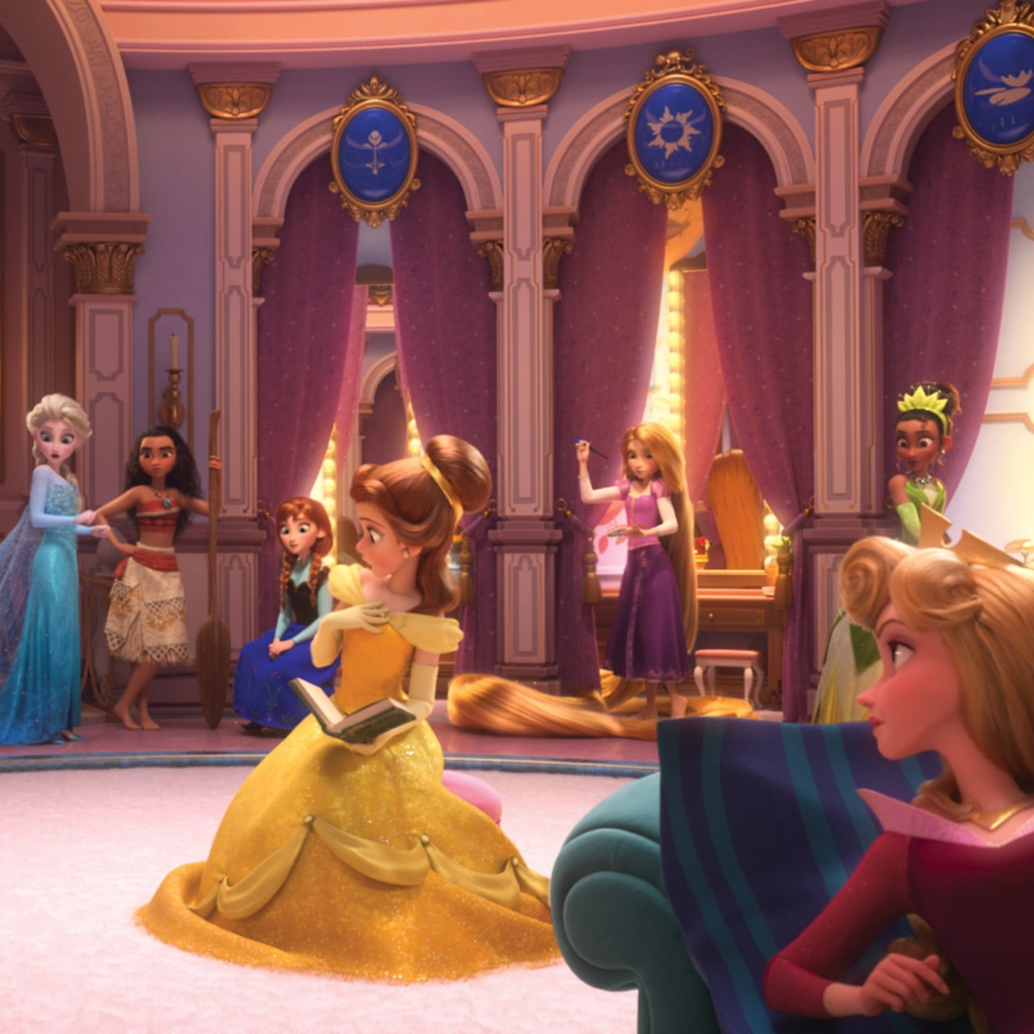 Princess tianas appearance in wreck it ralph 2 trailer popsugar princess tianas appearance in wreck it ralph 2 trailer popsugar beauty altavistaventures Gallery