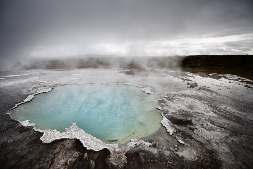 Soak in the Hot Springs in Iceland