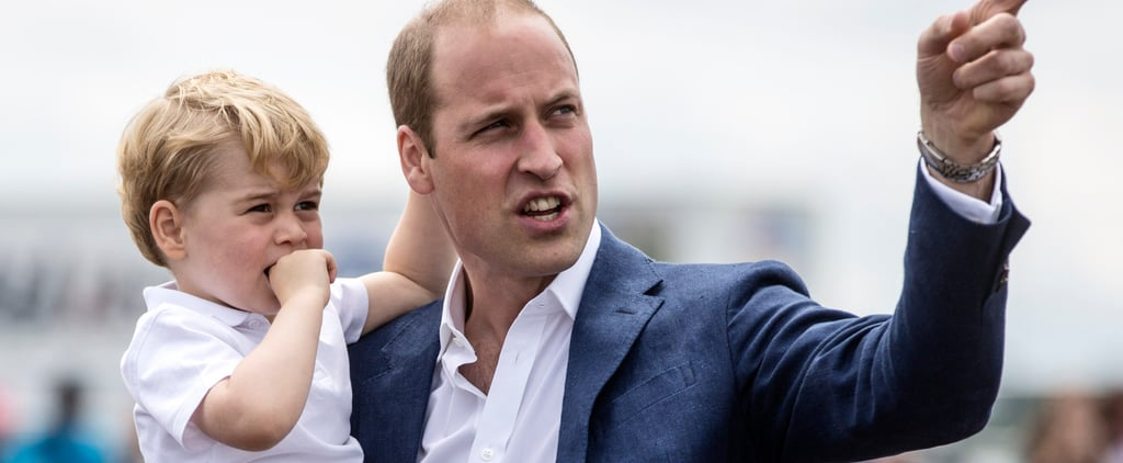 Prince William Quotes About Prince George June 2018
