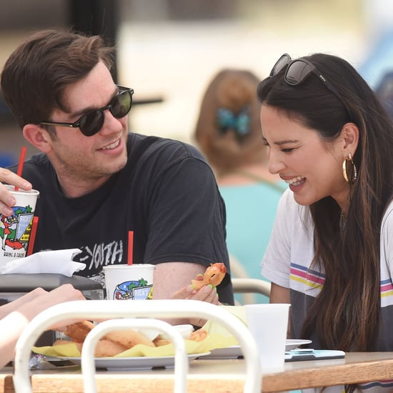 John Mulaney and Olivia Munn Have a Smiley Lunch Date in LA
