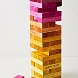 Sunnylife Giant Jumbling Tower Game