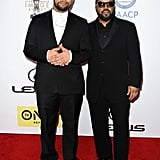 Ice Cube and his son, O'Shea Jackson Jr., attended the NAACP Awards together.