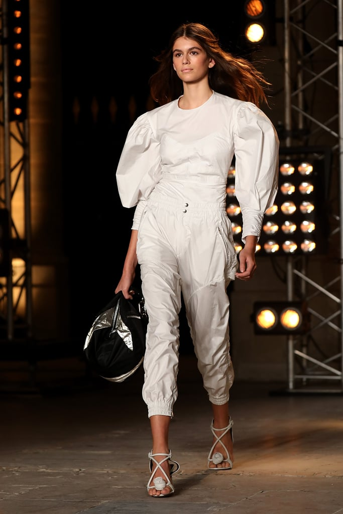 Kaia Also Made an Appearance on the Isabel Marant Runway in a Monochrome Look