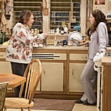 But at least Roseanne isn't afraid to step in and provide some grandmother-ly wisdom?