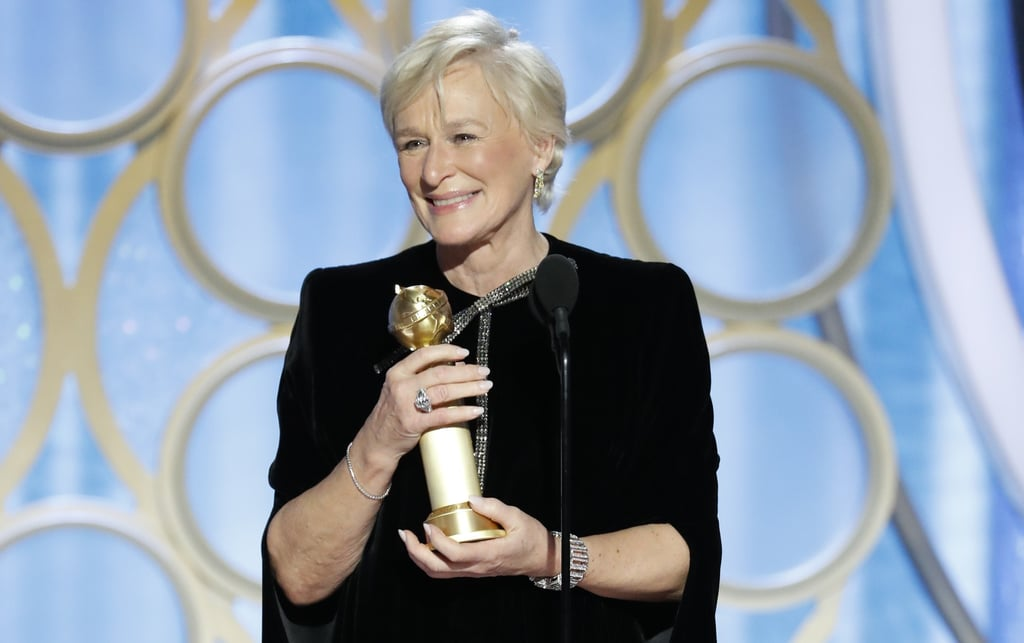 Image result for glenn close golden globe