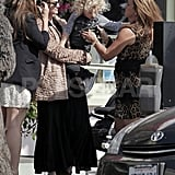 Ashlee Simpson passed off her son, Bronx Wentz, to her mother, Tina Simpson.