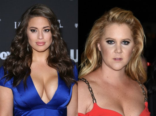 Ashley Graham Calls Out Amy Schumer for Being Quick AF to Disown 'Plus Size' Label