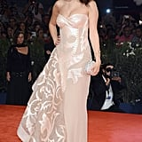 Selena Gomez stepped out in Versace Atelier.