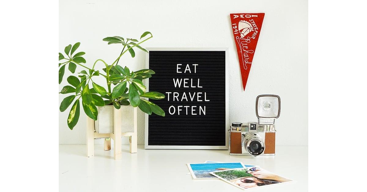 vintage inspired letter board diy fall decorations popsugar home photo 3