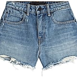 Alexander Wang High-Waisted Denim Shorts ($215)