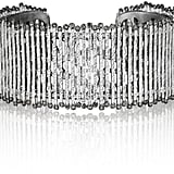 Coomi Spring Sterling Silver Cuff with Diamonds ($1,700)