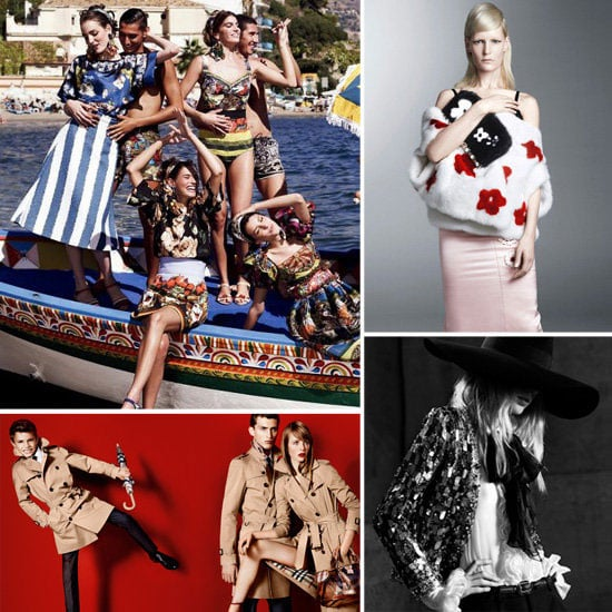 The Latest and Greatest Spring '13 Ad Campaigns