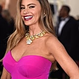Sofia Vergara's Brown Ombre Hair Color