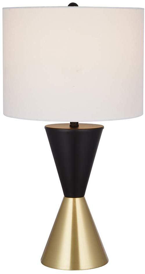 Rivet Modern Two Tone Table Desk Lamp