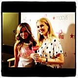 Ashley Tisdale stopped by a Macy's event in NYC.