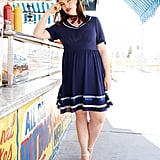 Our Pick: Eloquii Contrast Piping Sailor Dress