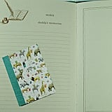 Wolfie's Bindery Baby Journal ($24)