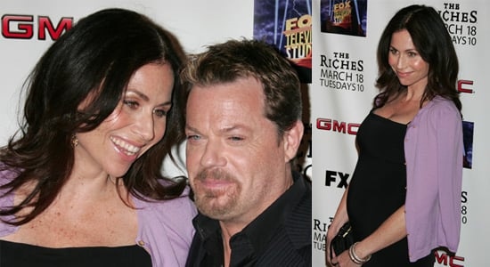 Minnie Driver and Eddie Izzard at The Riches Season 2 Screening