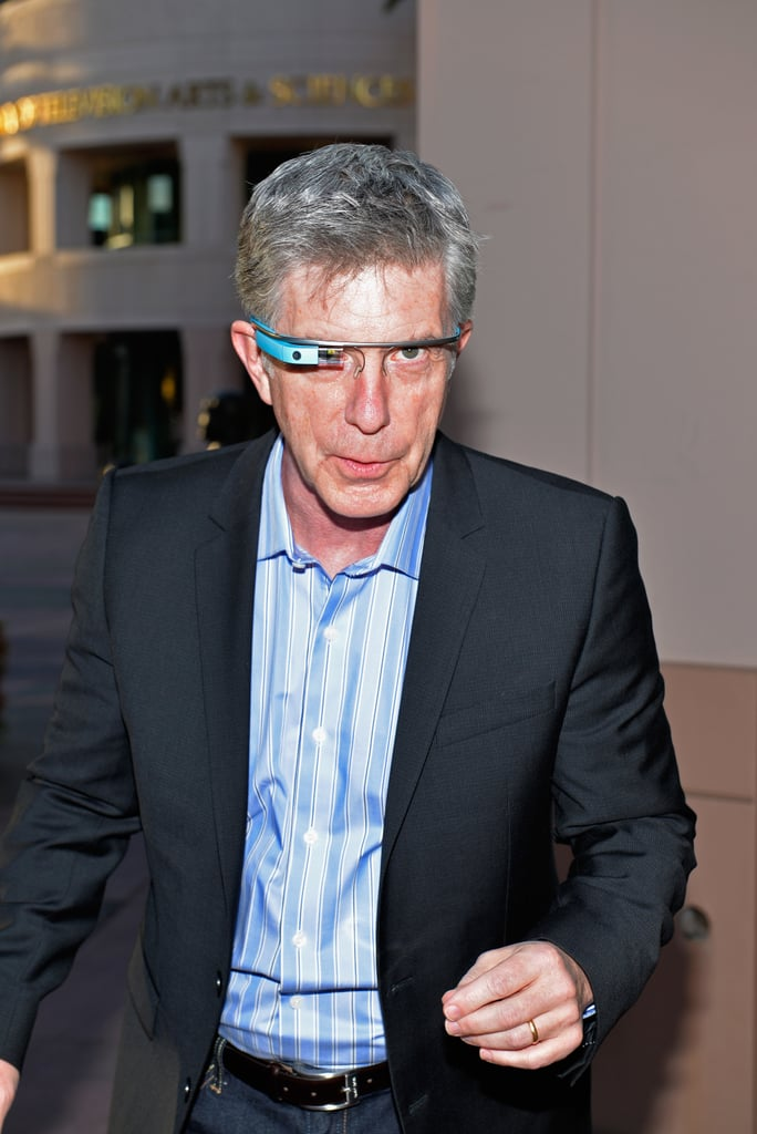 Tom Bergeron | Celebrities Wearing Google Glass | POPSUGAR ...