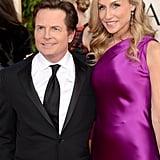 Michael J. Fox and Tracy Pollan